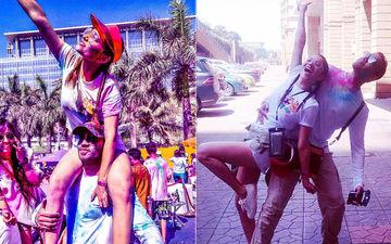 बॉयफ्रेंड विकी जैन के साथ अंकिता लोखंडे ने धूमधाम से मनाई होली, सोशल मीडिया पर शेयर की क्यूट तस्वीरें