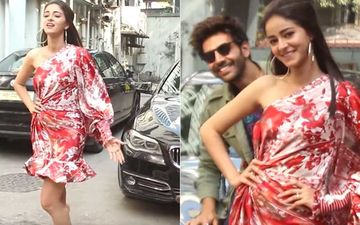 Ananya Panday Asks Paps To Ignore Kartik Aaryan And Give Her Attention Video Goes Viral; 'Usse Attention Matt Do'