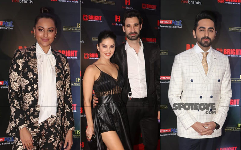 Annual Brand Vision Awards: Sunny Leone-Daniel Weber, Sonakshi Sinha, Ayushmann Khurrana Are The Early Birds