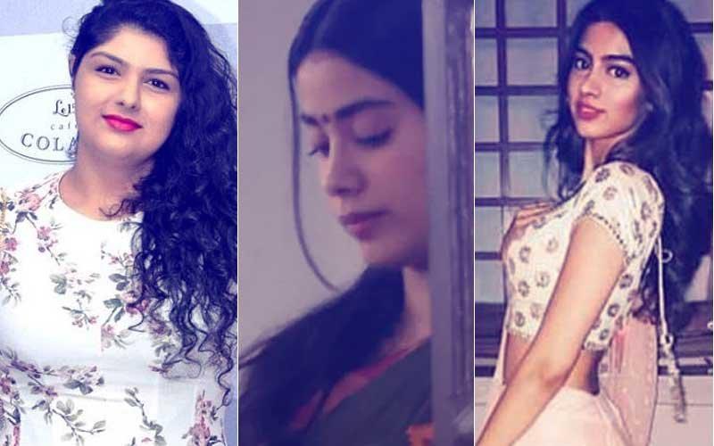 Anshula Kapoor Takes Care Of Khushi As Elder Sister Janhvi Resumes Work