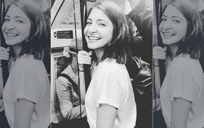 "Anushka Sharma Enjoys Train Ride In Brussels; Says, ""Happy Girls Are The Prettiest"""
