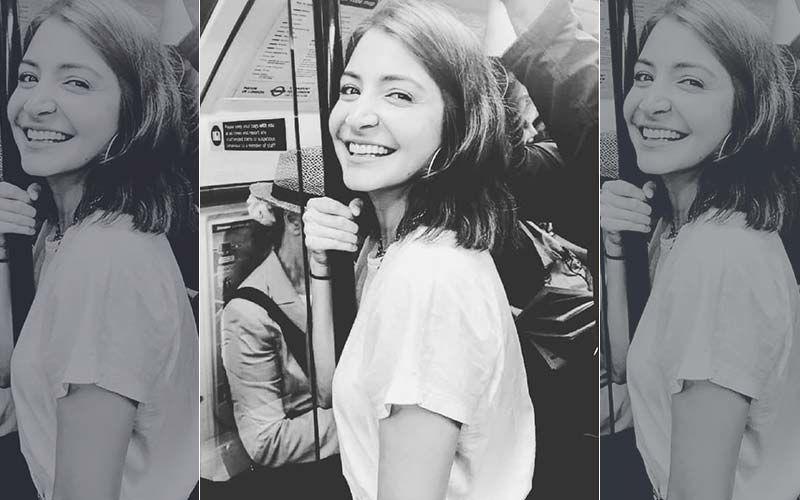 "Anushka Sharma Enjoys Train Ride In Brussels; Says, ""Happy Girls Are The Prettiest"""