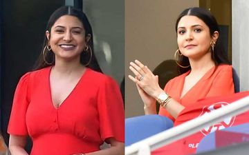 IPL 2020: Pregnant Anushka Sharma Stuns In A Cherry Red Dress As She Cheers For Husband Virat Kohli During RCB Vs CSK – VIEW PICS