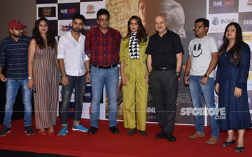 Anupam Kher And Esha Gupta Launch The Trailer Of One Day: Justice Delivered