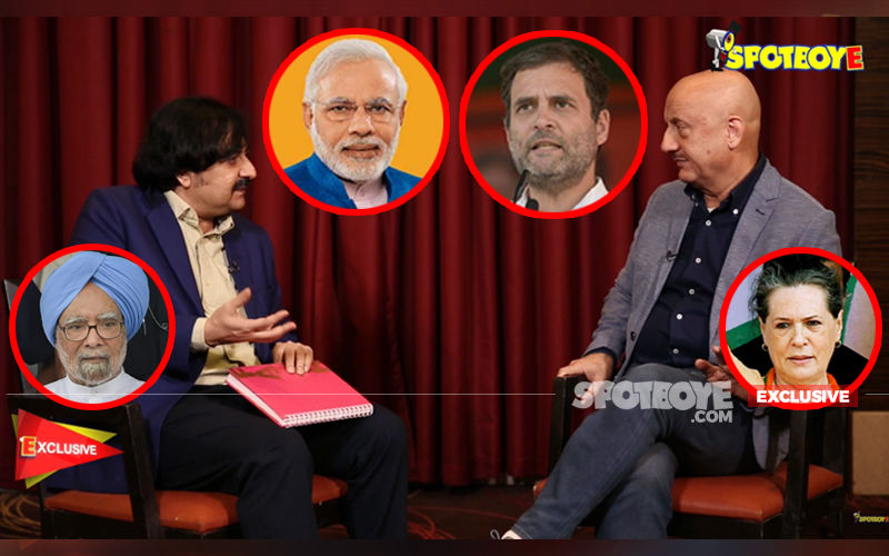 Anupam Kher EXCLUSIVE INTERVIEW: Talks Narendra Modi, Rahul Gandhi, Sonia Gandhi, Dr Manmohan Singh