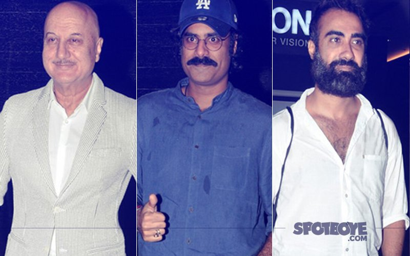 Anupam Kher, Harshvardhan Kapoor, Ranvir Shorey Attend The Big Sick Screening By MAMI