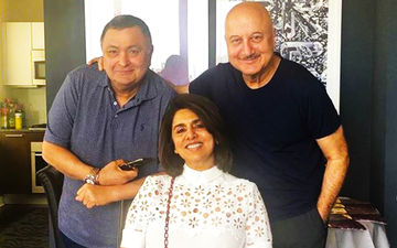 Rishi Kapoor, Neetu Kapoor And Anupam Kher Take A Cab In New York; Driver Has No Clue Who They Are!- Watch Video