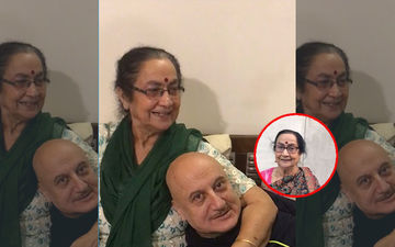 Anupam Kher's Mother Dulari's Childlike Innocence On The Streets Of New York Is Absolutely Adorbs, Video Inside