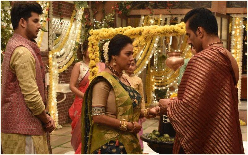 Anupamaa Mahashivratri Special: Rupali Ganguly AKA Anupamaa Speaks Up For Vanraj As He Breaks Down After Samar's Rebellious Attitude