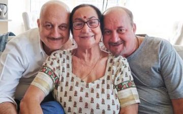 Anupam Kher's Mother Has Been Shifted To COVID-19 Isolation Ward, Brother Raju And His Family In Home Quarantine, Confirms Actor