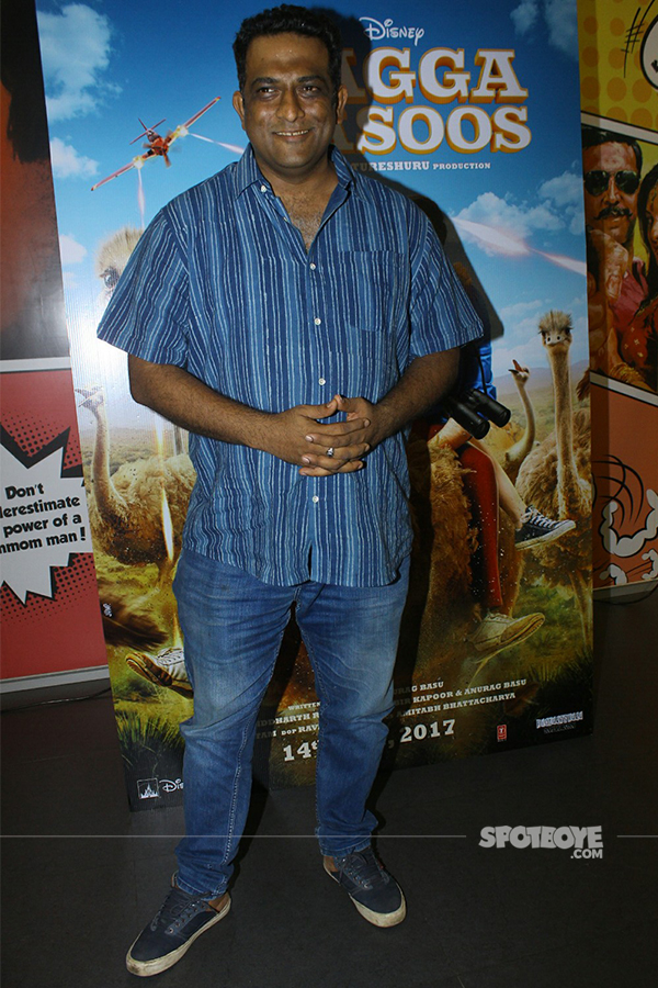 anurag basu at the promotions of jagga jasoos