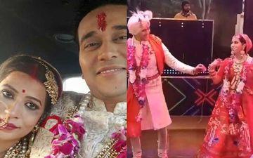 Yeh Hai Mohabbatein Actor Anurag Sharma's Bride Falls Off While Dancing At Their Wedding – Pics