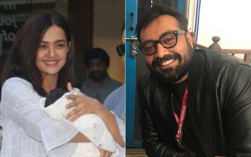 Surveen Chawla's Baby Girl Eva Finds A Godfather In Anurag Kashyap
