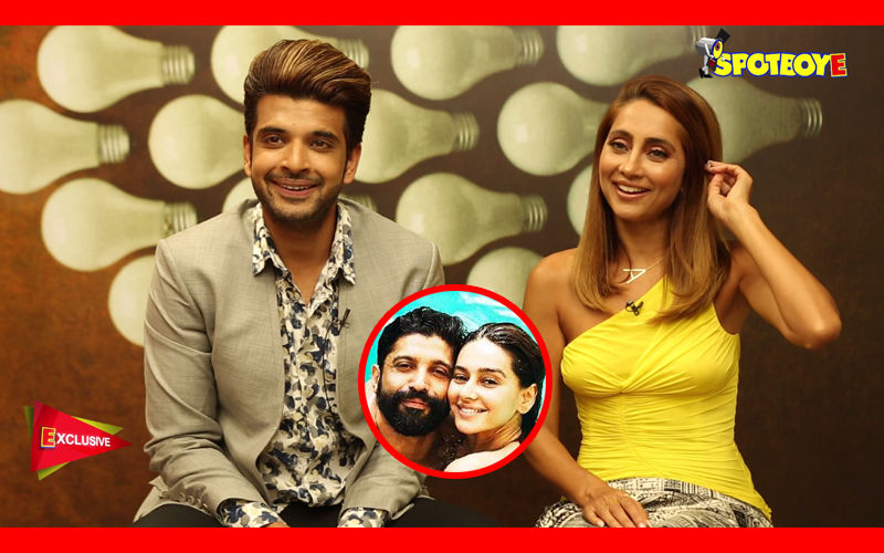 Anusha Dandekar-Karan Kundra Spill The Beans On Shibani-Farhan's Marriage Plans!