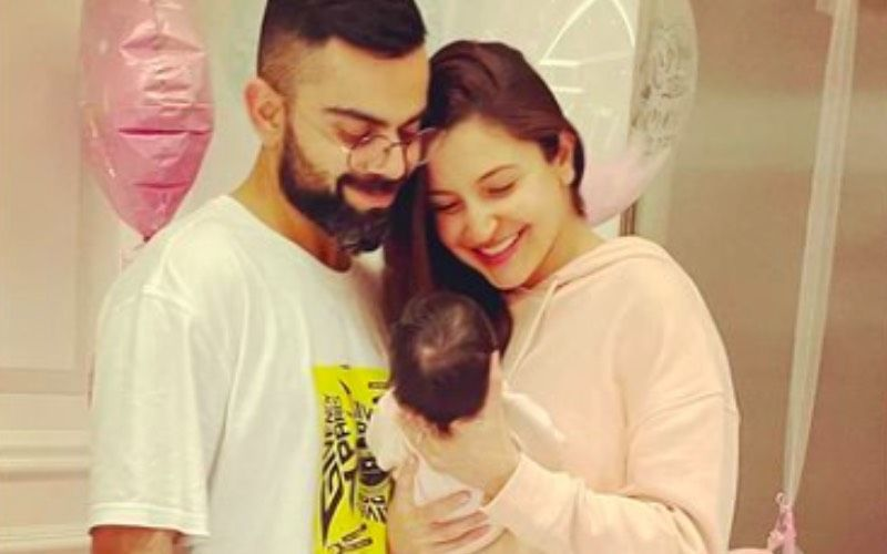 Virat Kohli Packs On The PDA With Anushka Sharma In This Romantic Snap As They Celebrate Their Daughter Vamika Turning 2 Months Old- PIC INSIDE