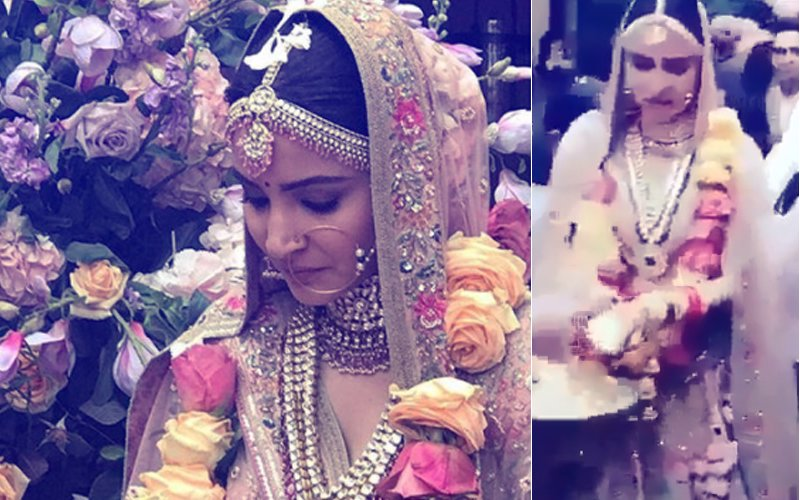 Anushka Sharma's WEDDING OUTFITS: Which One Is Your Favourite?