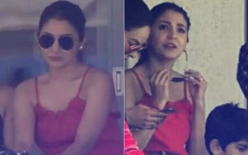 Anushka Sharma Cheers For Hubby Virat Kohli From The Stands