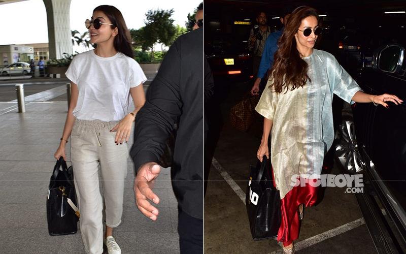 Anushka Sharma And Malaika Arora Are Bag Twins