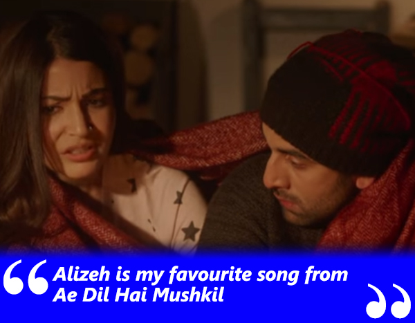 anushka sharma and ranbir kapoor in alizeh song