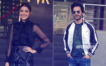 Anushka Sharma And Varun Dhawan Arrive For Sui Dhaaga Success Meet