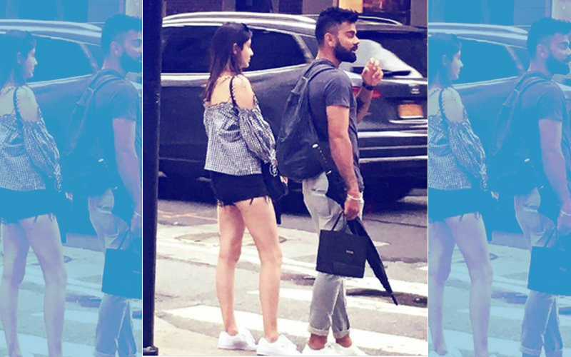 Virat Kohli Takes A Stroll With Girlfriend Anushka Sharma On New York Streets
