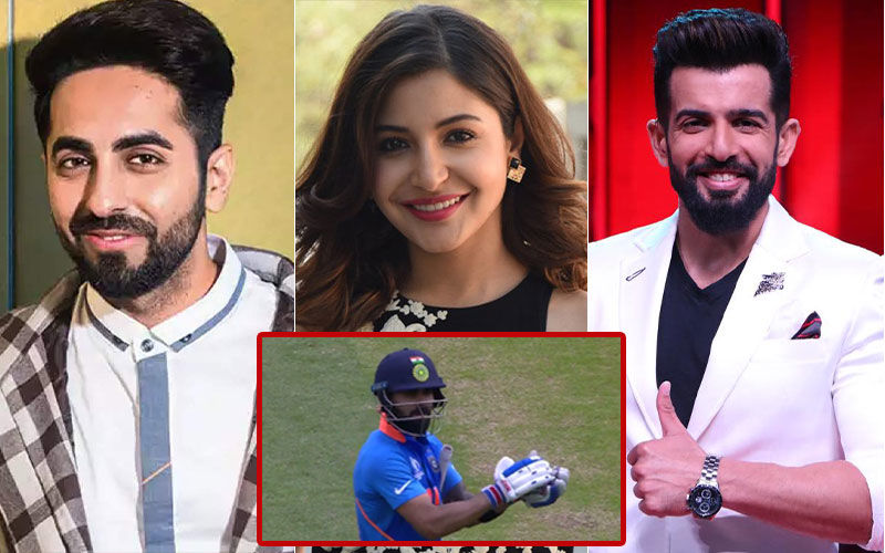 Anushka Sharma, Ayushmann Khurrana, Jay Bhanushali Applaud Virat Kohli's Gesture Towards Steve Smith