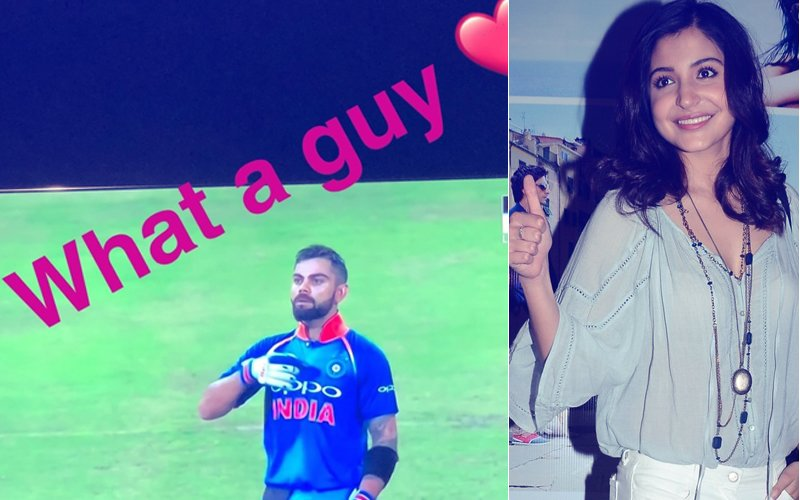 'What A Guy', Says A PROUD Anushka For Hubby Virat As He Scores A SMASHING Century At Durban!