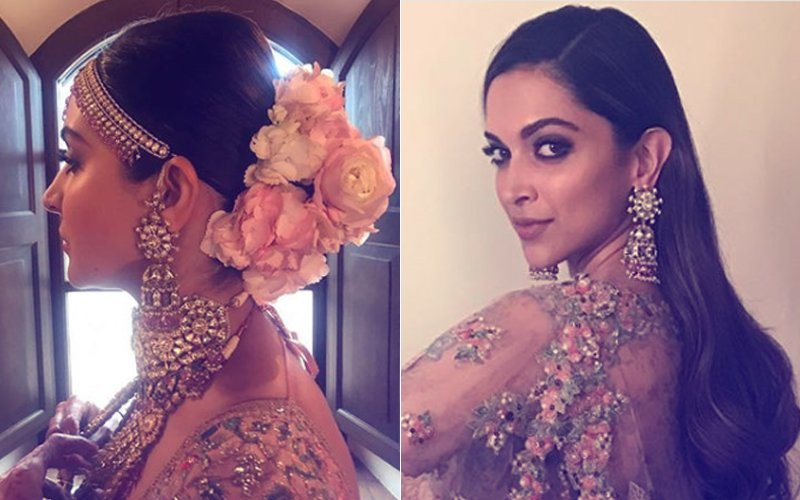 Anushka Sharma's Wedding Earrings Are Same As What Deepika Padukone Wore At An Event