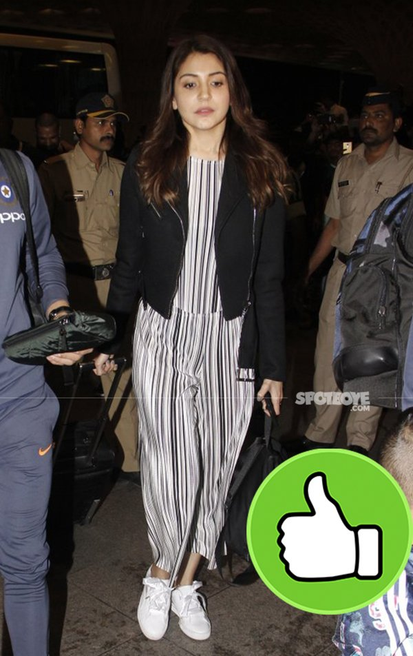 anushka sharma departs for south africa
