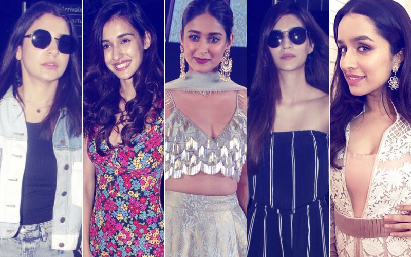 STUNNER OR BUMMER: Anushka Sharma, Disha Patani, Ileana D'Cruz, Kriti Sanon Or Shraddha Kapoor?