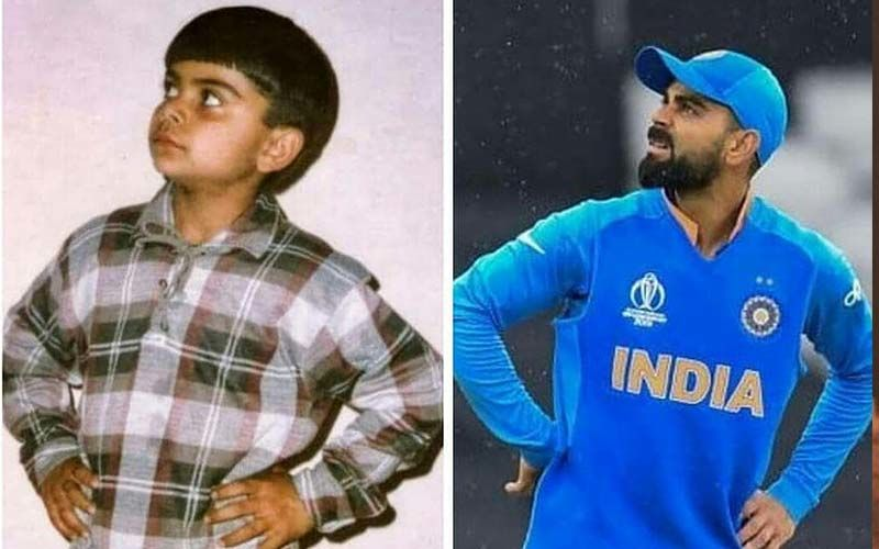 Anushka Sharma's Better Half Virat Kohli Shares A Childhood Picture And It'll Totally Make Your Day