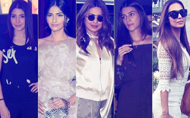 STUNNER OR BUMMER: Anushka Sharma, Sonam Kapoor, Priyanka Chopra, Kriti Sanon, Or Malaika Arora?