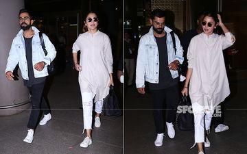 Anushka Sharma-Virat Kohli Back In Town After Spending Some 'WE' Time In Australia