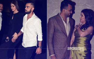 Anushka Sharma & Virat Kohli Arrive Hand-In-Hand At Zaheer Khan & Sagarika Ghatge's Engagement