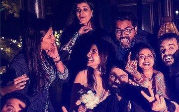 Friends & Family Raise A Toast To The Newlyweds, Anushka & Virat