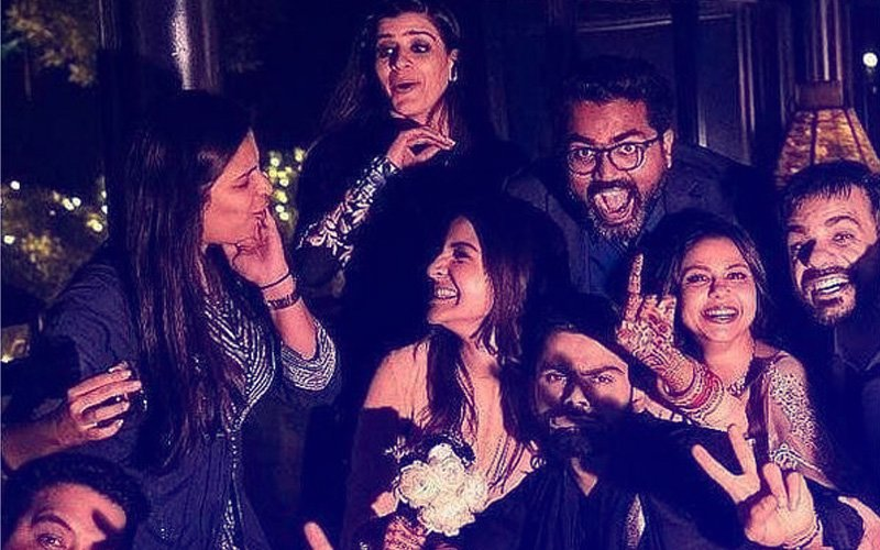 Friends & Family Raise A Toast To The Newlyweds, Anushka & Virat