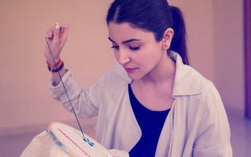 Here's How Anushka Sharma Is Preparing For Sui Dhaaga