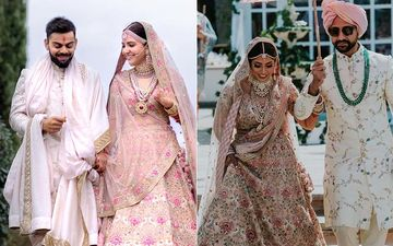 Stunning Abu Dhabi Bride Recreates Anushka Sharma's Bridal Look In A Sabyasachi Lehenga Nonetheless - View Pics