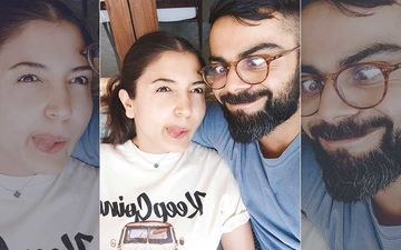 Coronavirus Lockdown: Anushka Sharma Is A Clingy Bear With Virat Kohli As She Shares An Animated Version Of Her and Her Hubby