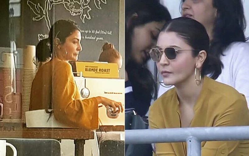 India Vs Sri Lanka World Cup 2019: Anushka Sharma Cheers For Her Hubby Virat Kohli During The Match