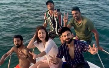 Anushka Sharma Attends A Yacht Party With Virat Kohli And Boys KL Rahul, Mayank Agarwal And R Ashwin In West Indies