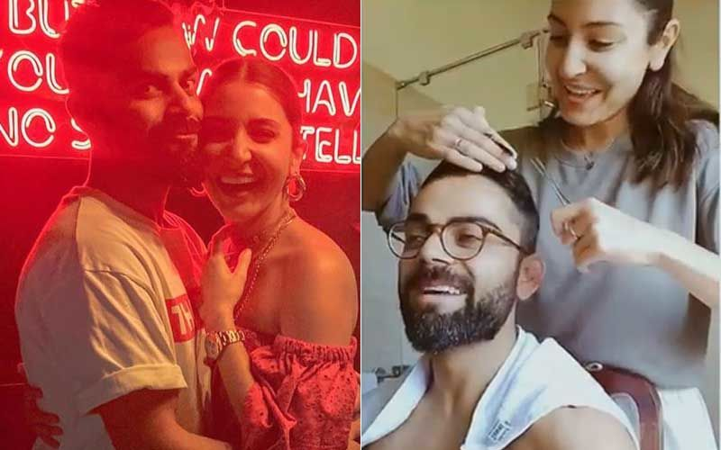 Coronavirus Lockdown: Anushka Sharma Turns Hairdresser; Hubby Virat Kohli Becomes Her First Customer- WATCH VIDEO