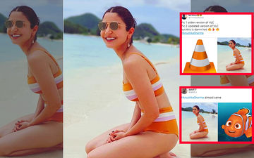 Anushka Sharma's Bikini Picture Triggers Hilarious Memes Online,  Twitter Compares Her To Construction Cones And Nemo