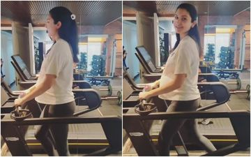 Heavily Pregnant Anushka Sharma Hits The Treadmill Days Before Her Due Date; The Glow On Her Face Is Inevitable