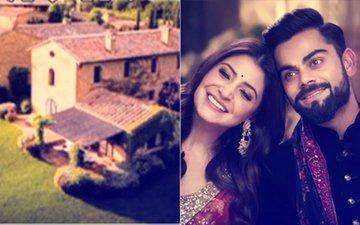 FLOATING: The VENUE PICTURES Of Virat Kohli-Anushka Sharma WEDDING