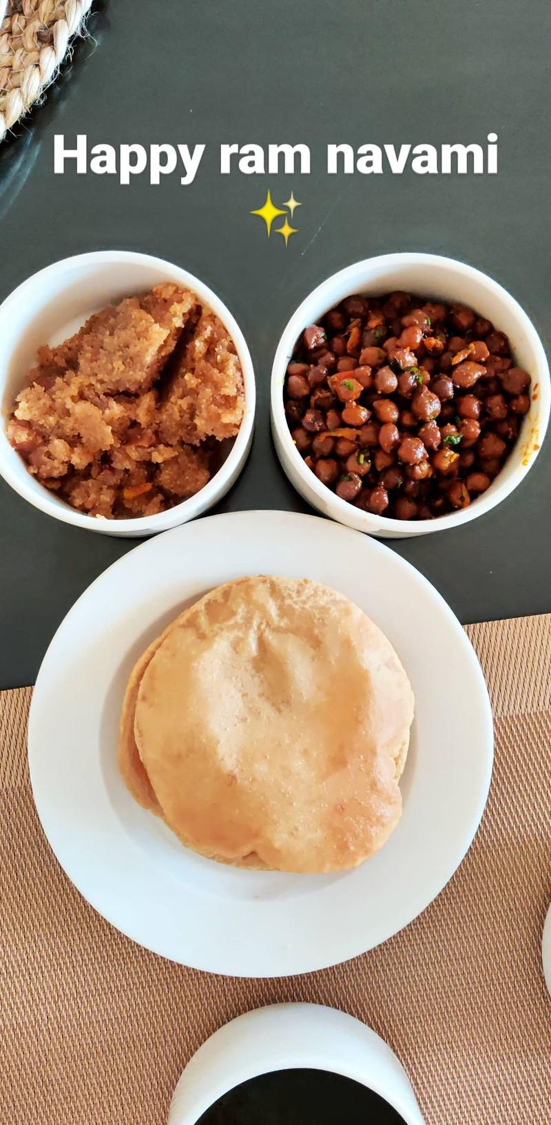 anushka lunch