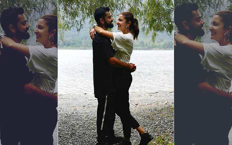 Virat Kohli Captured In The Moment By Wifey Anushka Sharma; Actress Is All Heart For Hubby Dearest