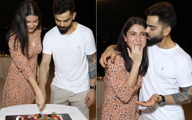 Anushka Sharma-Virat Kohli Celebrate Baby Announcement With RCB Team In Dubai; Mom-To-Be's Baby Bump And Pregnancy Glow Is Unmissable – VIDEO