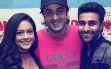 Ranbir Kapoor, Neetu-Rishi Kapoor, Karisma Kapoor Attend Aadar Jain & Anya Singh's Qaidi Band Screening