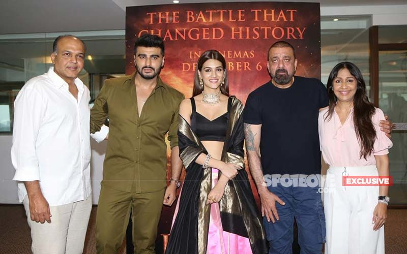 Panipat Trailer, Special Preview: Kriti Sanon Prays For Arjun Kapoor's Safety And Victory In His Open Combat With Sanjay Dutt- EXCLUSIVE